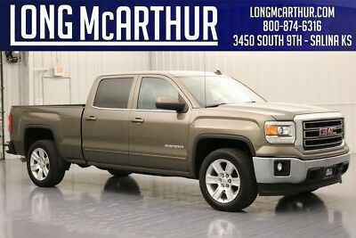 GMC Sierra 1500 SLE 2014 SLE Used Certified 5.3L V8 16V Premium OnStar Automatic 4WD Pickup Truck