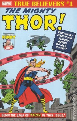 True Believers Kirby 100th Introducing Mighty Thor #1 2017 NM Stock Image