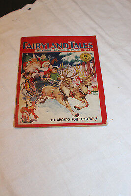 Antique Vintage Childrens Book-Fairyland Tales-@1930-Christmas-#437-RARE!