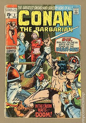 Conan the Barbarian (Marvel) #2 1970 FR/GD 1.5