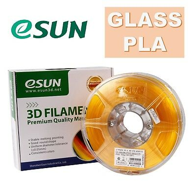 Genuine eSUN Glass PLA 3D Printing Filament 1.75mm 1kg Free Shipping Australia