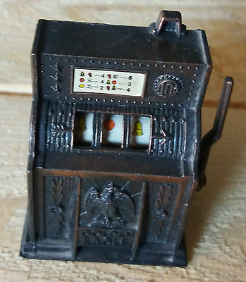 Temperino Slot Machine Metallo Vintage Pencil Sharpener