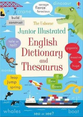 Junior Illustrated English Dictionary and Thesaurus (Illustrated Dictionaries an