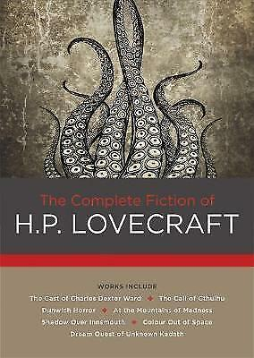 The Complete Fiction of H. P. Lovecraft by Lovecraft, H. P.   Hardcover Book   9
