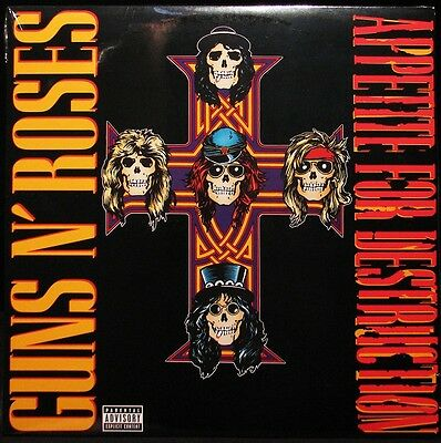 Guns N' Roses - Appetite For Destruction (180g Vinyl LP) NEW