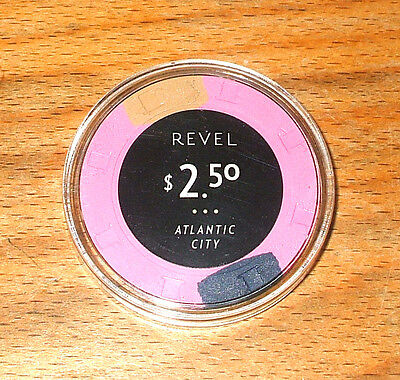 $2.50 Revel Hotel Casino Chip - Atlantic City, New Jersey - 2012