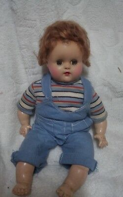 1940s Madame Alexander 12 inch Butch Doll in tagged Original Outfit