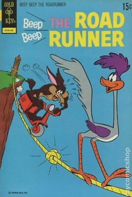 Beep Beep the Road Runner (Gold Key) #34 1973 VG- 3.5 Stock Image Low Grade