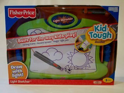 Fisher Price Kid Tough Light Sketcher Doodler Draw NEW
