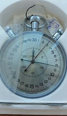 Mechanische Stoppuhr Slava Split Chronograph 1Q 1988