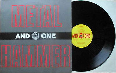 """And One: Metalhammer (12"""" CLUB MIX 5:11 min! GERMANY 1990!)"""