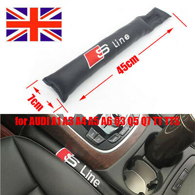 Leather Seat Gap Pad Fillers Spacer Filler Plug Stopper For AUDI A4 A6 A8 TT Q7