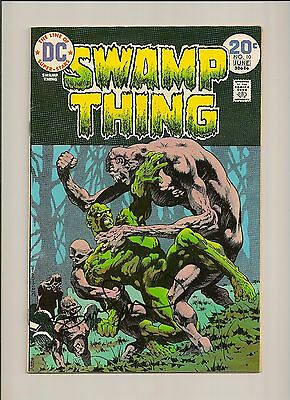 Swamp Thing #10, signed by Bernie Wrightson at Boston Comic Con, FN (no COA)