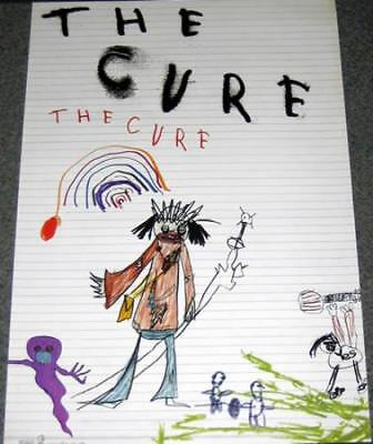 Cure The Cure UK poster promo PROMO POSTER GEFFEN 2004