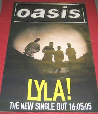 Oasis (UK) Lyla! poster UK promo 39 X 50 BIG BROTHER 2005