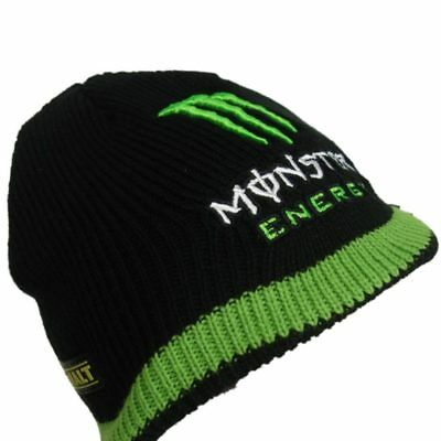 HAT Beanie schwarz BSB MotoGP s Racing Tech3 Monster Energy  DE