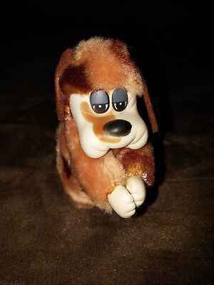 VINTAGE Pound Puppies clip on arms paws plush stuffed animal toy puppy clipon