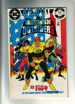 Batman and the Outsiders Annual #1 -  DC 1984  NM+