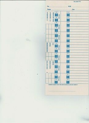 Tp-10 Weekly Time Clock Cards (500)