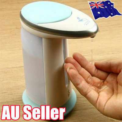 Automatic IR Sensor Soap Dispenser Touchless Handsfree Sanitizer Hand-Wash ON