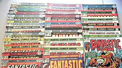 FANTASTIC FOUR...MARVEL...LOT OF 25 COMICS...25 Cents #146 to #173...SEE LIST