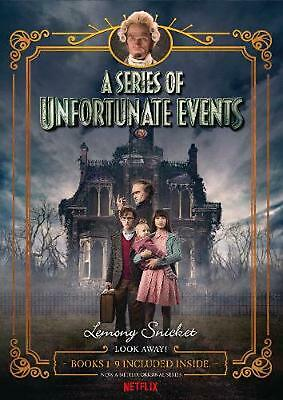 A Series of Unfortunate Events #1-9 Netflix Tie-in Box Set by Lemony Snicket Har