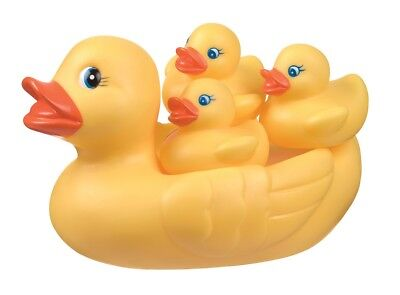 New Playgro Duckie Duck Family Baby Bath Toy Bathtime Fun 6m+ BPA Free