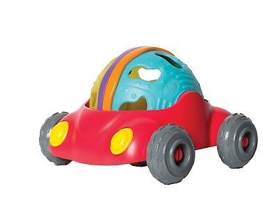 New Playgro Junyju Rattle and Roll Car Baby Toddler Toy 12m+