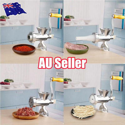Heavy Duty Meat Mincer Grinder Manual Hand Operated Kitchen Beef Sausage Maker N