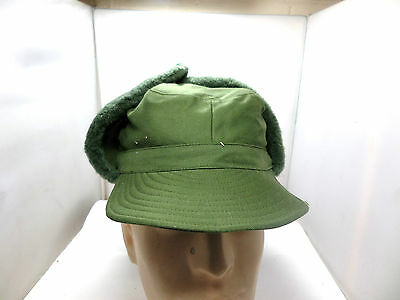 Genuine Swedish Army Military Issued Cold Weather Hat Size 57