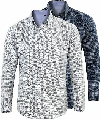 Camicia Manica Lunga Uomo Regular Fit Comfort Collo Button Down GIROGAMA 2470IT
