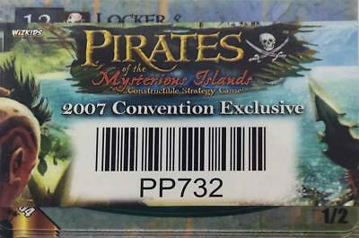 WizKids Pirates CSG Pirates of the Mysterious Islands 2007 Convention Exc MINT