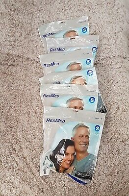Set of 6 Resmed Mirage Quatro Full Face Mask . Size : Small