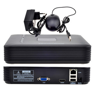 Full HD 4CH 8CH Security CCTV NVR 1080P ONVIF 2.0 For IP Camera Security System