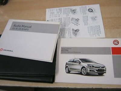 vauxhall astra h owners manual handbook audio guide in wallet 2004 rh picclick co uk 2004 astra owners manual 2004 holden astra owners manual