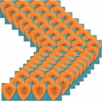 Dunlop Standard Tortex Plectrums Orange 0.60 mm Gauge Guitar Picks 418R