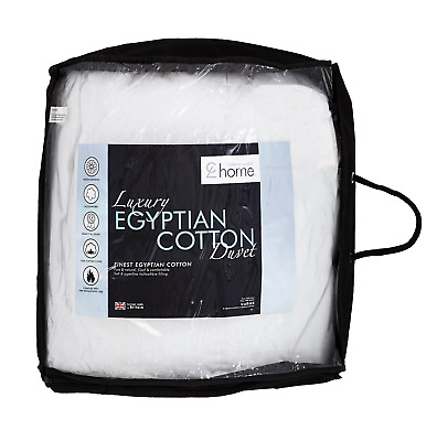 Catherine Lansfield Luxury Egyptian Cotton 13.5 TOG Duvet/Quilt Non Allergenic