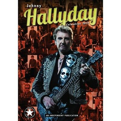 Lot de 10 calendriers Johnny Hallyday 2019