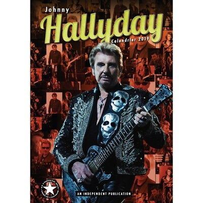 Lot de 20 calendriers Johnny Hallyday 2019