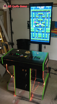 4 PLAYER PEDESTAL Arcade Can Play 1000's of Games, Jukebox
