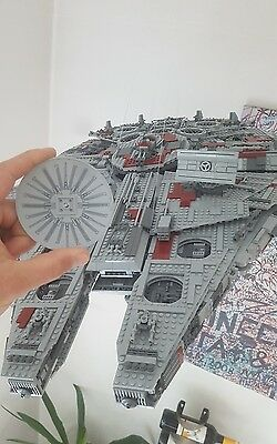 LEGO Starwars 10179 Millenium Falken  Radar Dish 10x10 light bluish gray *best*