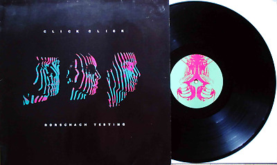 Click Click: Rorschach Testing (LP Germany 1988! EBM/INDUSTRIAL!)