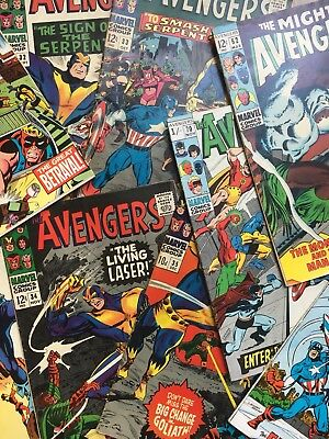 Collection of Silver Age Avengers