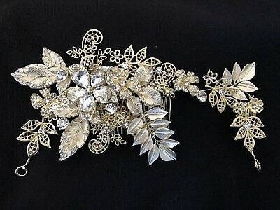 Rhinestone  Wedding Hair Accessories, Wedding Hair piece, Hair comb, vintage
