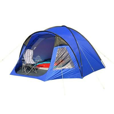 Eurohike Cairns 5 Man Deluxe Tent  5 Blue One Size