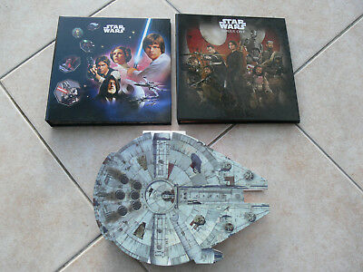 RARE COMPLETS Star Wars E Leclerc collector Jetons & micropopz 2015-2016-2017
