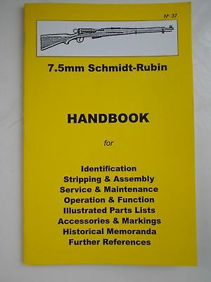 7.5 Schmidt-Rubin Handbook Assembly, Disassembly