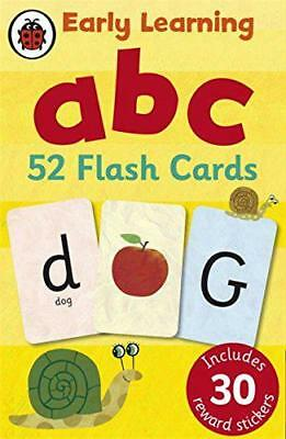 Early Learning ABC flash cards by Ladybird | Hardcover Book | 9781409302742 | NE