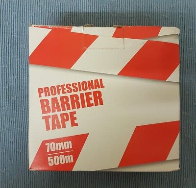 Barrier Tape 70mm 500m Professional Quality Non-adhesive