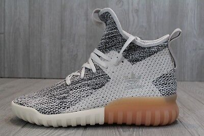 super popular 849d9 39faf 29 NEW ADIDAS Tubular X PK Primeknit Gray Cream White BY3146 Mens Shoes  9-10.5